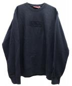 Supreme(シュプリーム)の古着「カットロングクルーネック」|ブラック