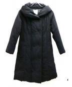 自由区(ジユウク)の古着「ショールカラーダウンコート」|ブラウン