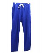 Ron Herman(ロンハーマン)の古着「R刺繍スウェットパンツ」|ブルー