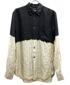 COMME des GARCONS HommePlus(コムデギャルソンオムプリュス)の古着「切替シャツ」|グレー