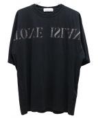 STONE ISLAND(ストーンアイランド)の古着「ロゴ刺繍T」|ブラック