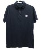 STONE ISLAND(ストーンアイランド)の古着「ポロシャツ」|ブラック