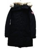CANADA GOOSE(カナダグース)の古着「ロクスレアパーカ」|ネイビー