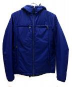 PRADA SPORTS(プラダスポーツ)の古着「リバーシブルウィンドストッパー中綿ジャケット」|ネイビー