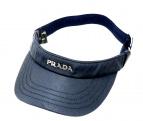 PRADA(プラダ)の古着「サンバイザー」|ネイビー