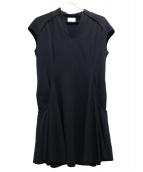 mame(マメ)の古着「ブラウスワンピース」|ブラック