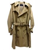 RALPH LAUREN(ラルフローレン)の古着「[OLD]オールドトレンチコート」|ベージュ
