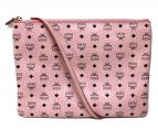 MCM(エムシーエム)の古着「ロゴグラムクラッチショルダーバッグ」|ピンク