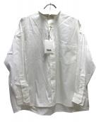 TICCA(ティッカ)の古着「ビッグシャツ」|ホワイト