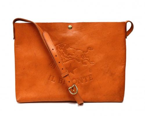 IL BISONTE(イルビゾンテ)IL BISONTE (イルビゾンテ) ショルダーバッグ オレンジ サイズ:-の古着・服飾アイテム