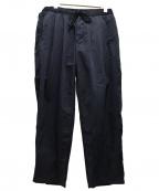 F/CE(エフシーイー)の古着「サイドストライプイージーパンツ」 ブラック