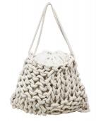 alienina(アリエニーナ)の古着「ロープバッグ」|ホワイト