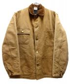 CarHartt(カーハート)の古着「80sダックブランケットチョアジャケット」 ブラウン