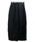 慈雨(ジウ)の古着「ワイドパンツ」|ブラック
