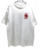 VIOLA&ROSES(ビオラ&ローゼス)の古着「バックロゴTシャツ」 ホワイト