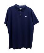 KITH(キス)の古着「ミニボックスロゴポロシャツ」|ネイビー