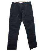 Supreme(シュプリーム)の古着「ダックダブルニーパンツ」|ブラック