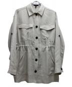icB(アイシービ)の古着「リネンライククロスジャケット」|ホワイト