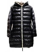 DUVETICA(デュベティカ)の古着「カッパダウンコート」|ブラック