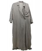 GALLARDA GALANTE(ガリャルダガランテ)の古着「2WAYシャツワンピース」|ベージュ