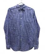 eYe COMME des GARCONS JUNYAWAT(コム デ ギャルソン ジュンヤ ワタナベ マン)の古着「ギンガムチェックシャツ」 ブルー