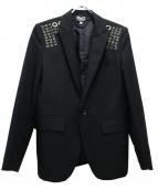 D&G(ディーアンドジー)の古着「テーラードジャケット」|ブラック