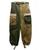 45R(フォーティファイブアール)の古着「ウェザー908のカーゴパンツ」|カーキ