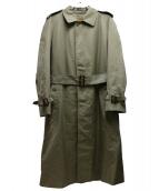 Burberrys(バーバリーズ)の古着「コットンポリライナー付トレンチコート」|ベージュ