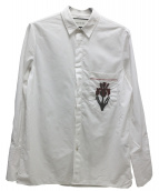 GUCCI(グッチ)の古着「刺繍シャツ」|ホワイト