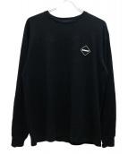 F.C.R.B.(エフシーアールビ)の古着「アニバーサリーL/Sカットソー」|ブラック
