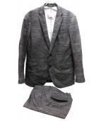 JOSEPH HOMME(ジョセフオム)の古着「セットアップスーツ」|ブラウン