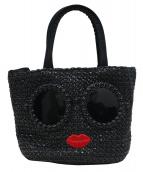 a-jolie(アジョリー)の古着「サングラスカゴトートバッグ」|ブラック