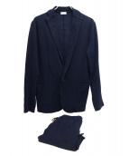 kolor/BEACON(カラービーコン)の古着「セットアップスーツ」 ネイビー
