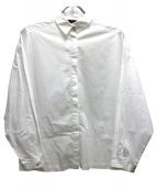 mizuiro-ind(ミズイロインド)の古着「バックギャザーシャツ」|ホワイト