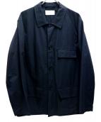 LEMAIRE(ルメール)の古着「ユーティリティーカバーオール」 ブラック