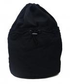 B Yohji Yamamoto(ビーヨウジヤマモト)の古着「ナップサック」 ブラック