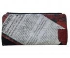 discord Yohji Yamamoto(ヨウジヤマモト)の古着「ヴィンテージ加工ロングプリントウォレット」|ブラック