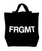 fragment design(フラグメントデザイン)の古着「ボンディングトートバッグ」|ブラック