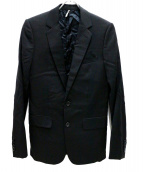 Dior Homme(ディオールオム)の古着「ノッチラペルドジャケット」|ブラック