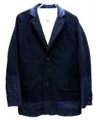REMI RELIEF(レミレリーフ)の古着「テーラードジャケット」|インディゴ