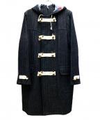 ms braque(エムズ ブラック)の古着「ダッフルコート」 ブルー