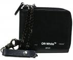 OFFWHITE(オフホワイト)の古着「チェーンロゴウォレット」|ブラック