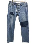 REMI RELIEF(レミレリーフ)の古着「イージーデニムパンツ」|インディゴ