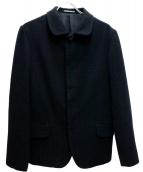 Ys(ワイズ)の古着「ラウンドカラージャケット」|ブラック