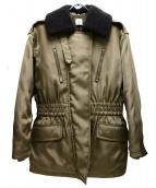 6(ROKU) BEAUTY&YOUTH(ロク ビューティアンドユース)の古着「キルティングムートンジャケット」 カーキ