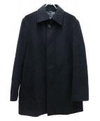 ck Calvin Klein(シーケーカルバンクライン)の古着「ウールステンカラーコート」|ブラック