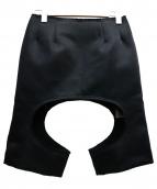 COMME des GARCONS(コムデギャルソン)の古着「デザインペンシルスカート」|ブラック