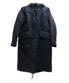 MHL(エムエイチエル)の古着「ライナー付モッズコート」|ブラック