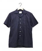 Brilla per il gusto(ブリッラ ペル イルグースト)の古着「リネンオープンカラーシャツ」|ネイビー