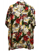 Engineered Garments(エンジニアードガーメンツ)の古着「アロハシャツ」|オレンジ